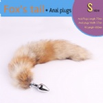 Fox's tail anal plug